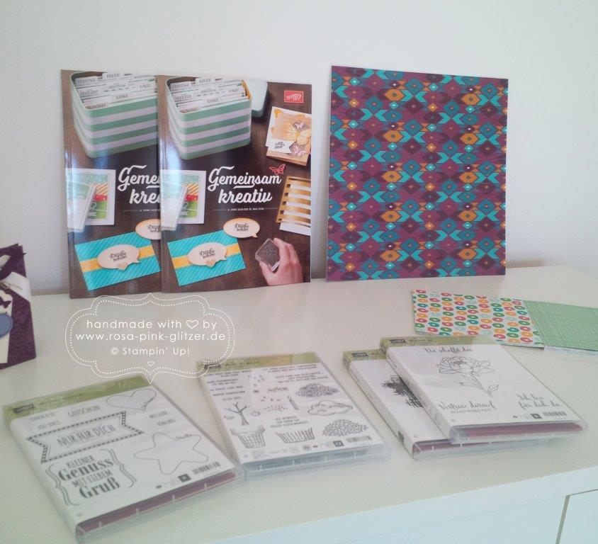 Stampin up Landshut - Workshop Stempelparty Mai 2015 3