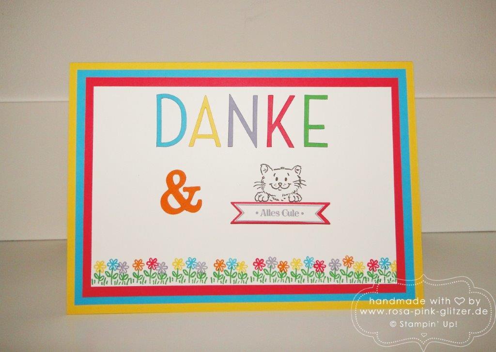 Stampin up Landshut - Abschied Erzieherin Kindergarten - Worte die gut tun 2
