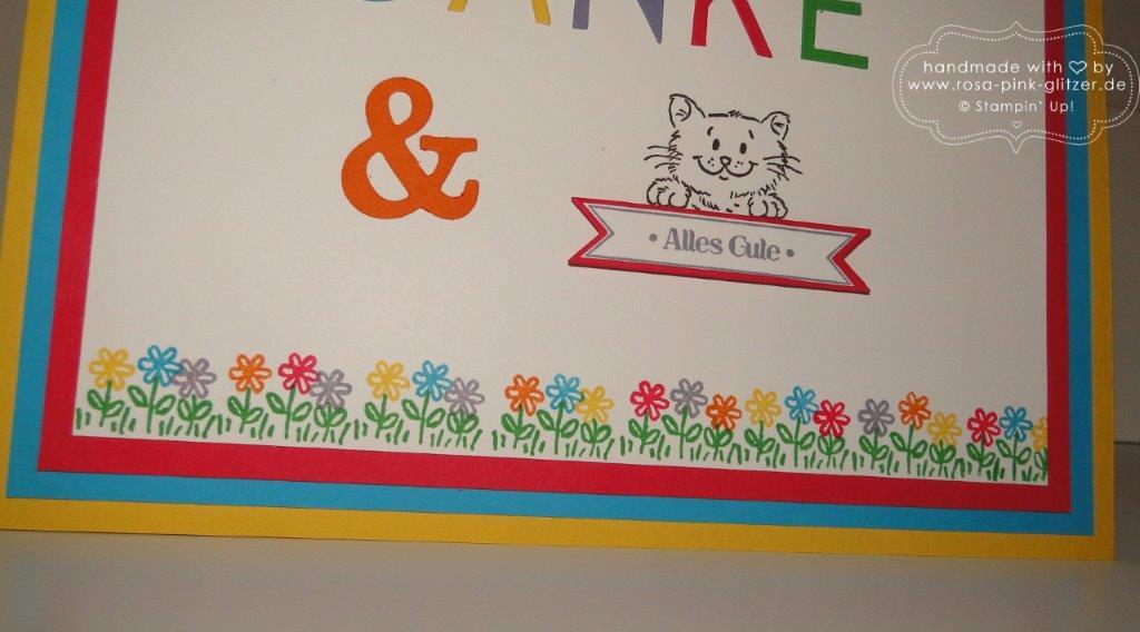 Stampin up Landshut - Abschied Erzieherin Kindergarten - Worte die gut tun 3