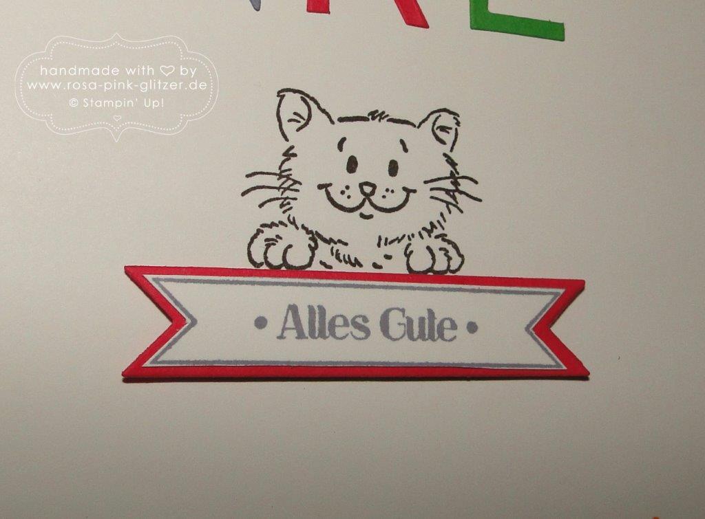 Stampin up Landshut - Abschied Erzieherin Kindergarten - Worte die gut tun 4