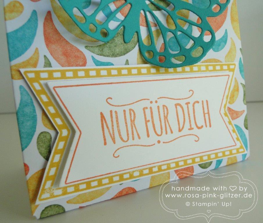 Stampin up Landshut - Geschenktüte Mit Liebe geschenkt 2