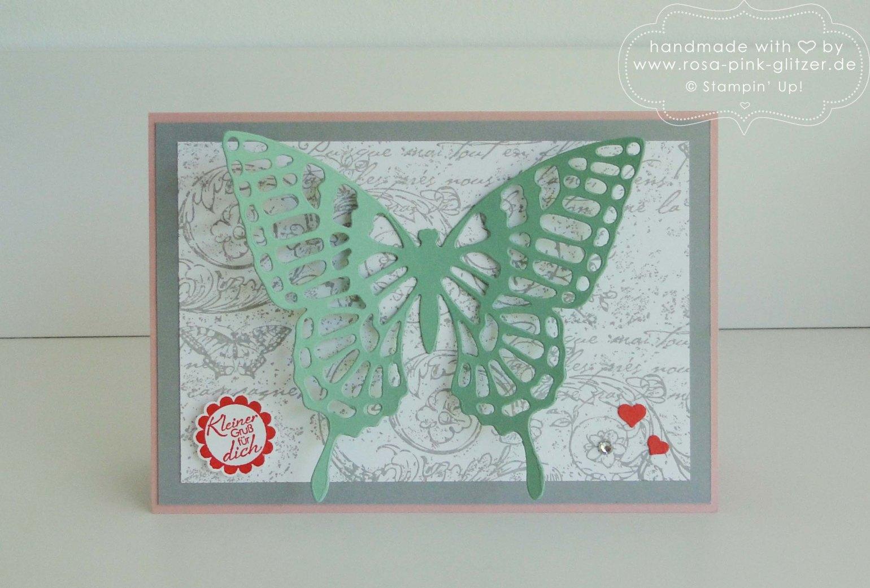 Stampin up Landshut - Schmetterling Minzmakrone imc 1