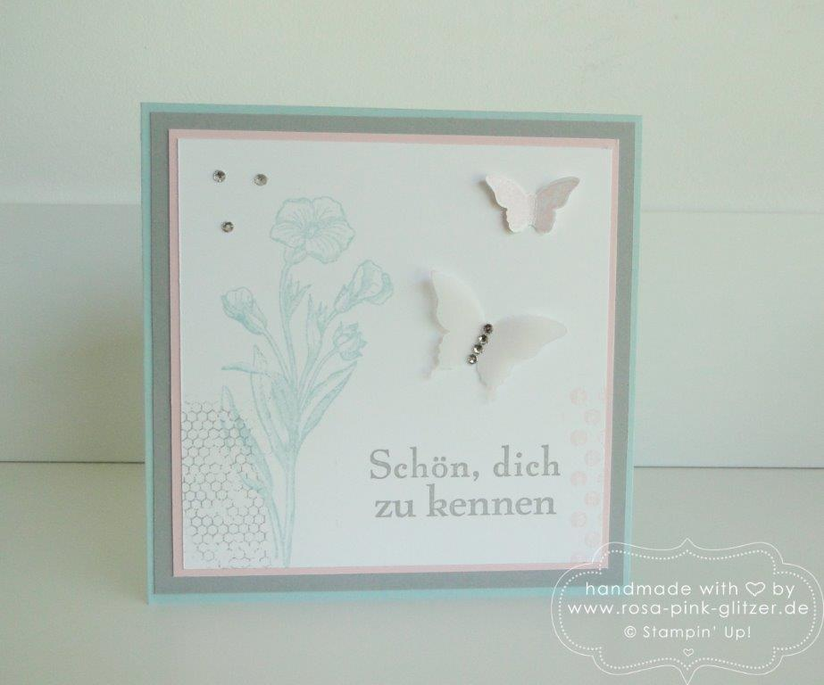 Stampin up Landshut - Schmetterlingsgruß Kinda Eclectic 1