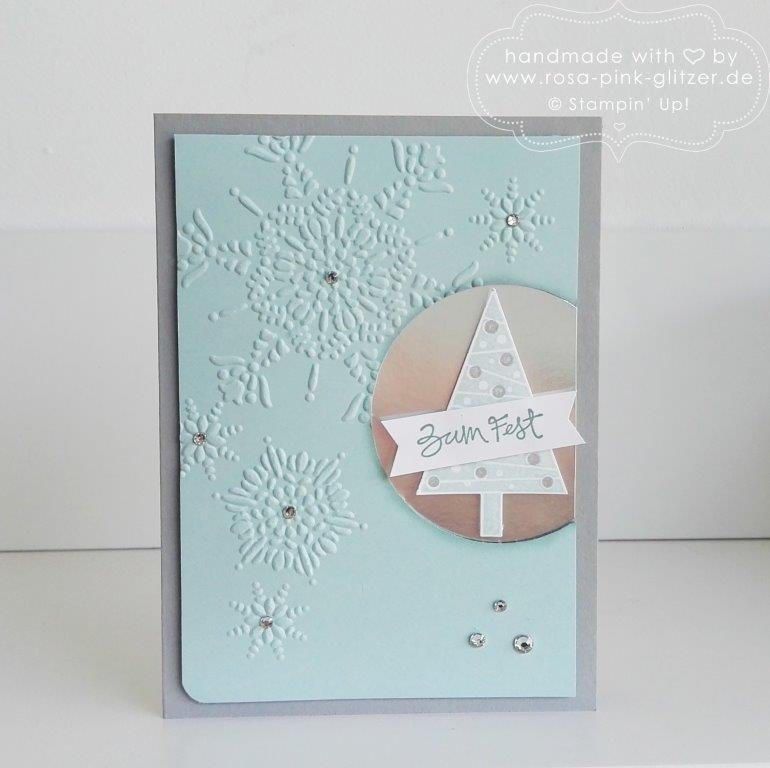 Stampin up Landshut - Weihnachtskarte Tannenbaum 4