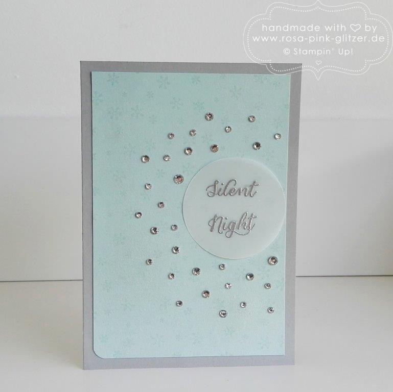Stampin up Landshut - Wonderland Silent Night Glitzer 1