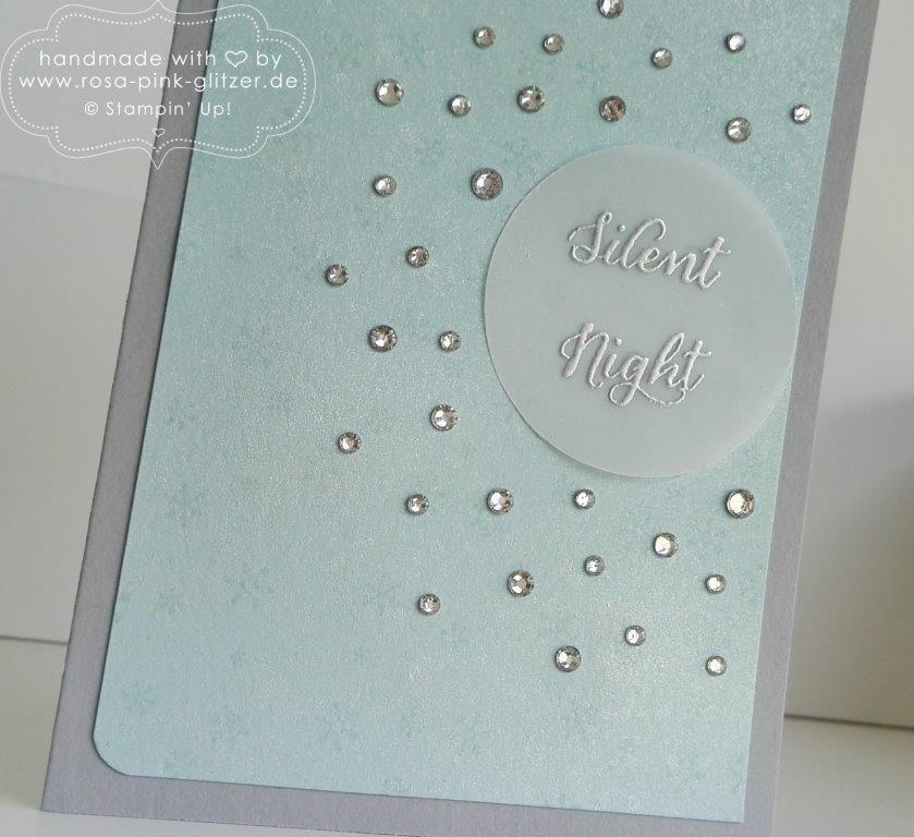 Stampin up Landshut - Wonderland Silent Night Glitzer 2