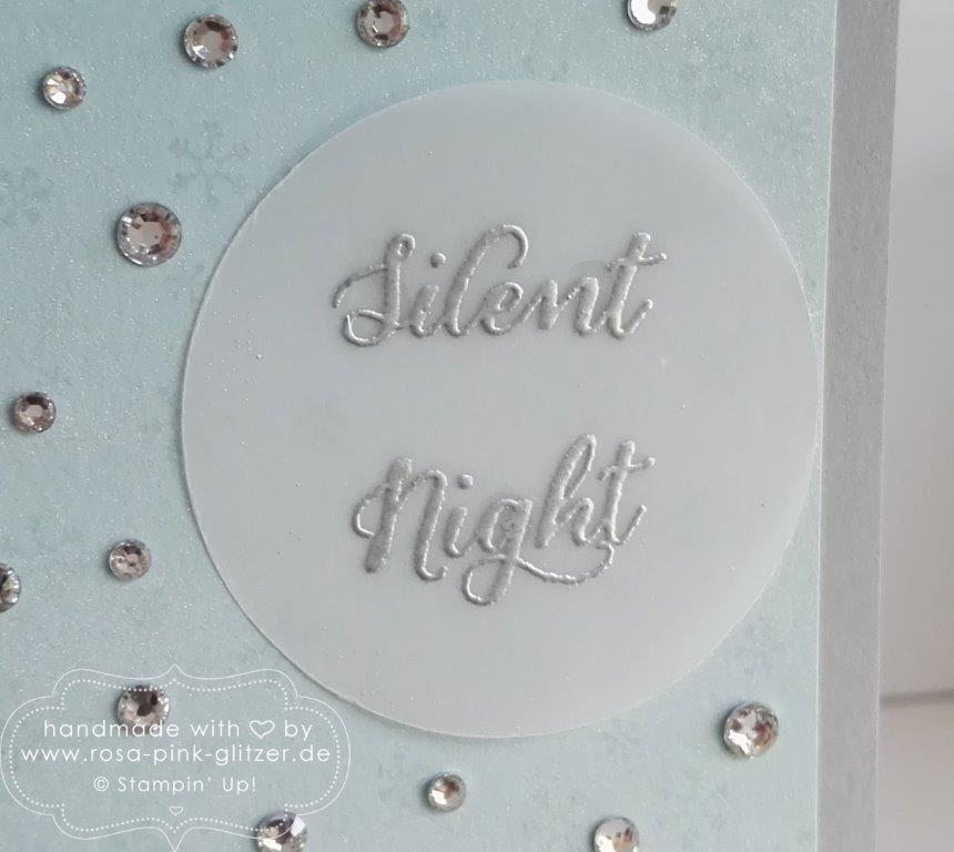 Stampin up Landshut - Wonderland Silent Night Glitzer 3