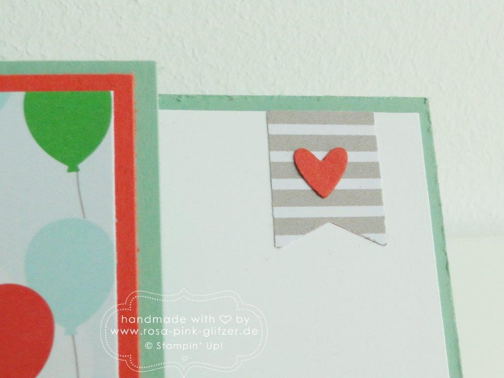 Stampin up Landshut - Karte Luftballons Party 5
