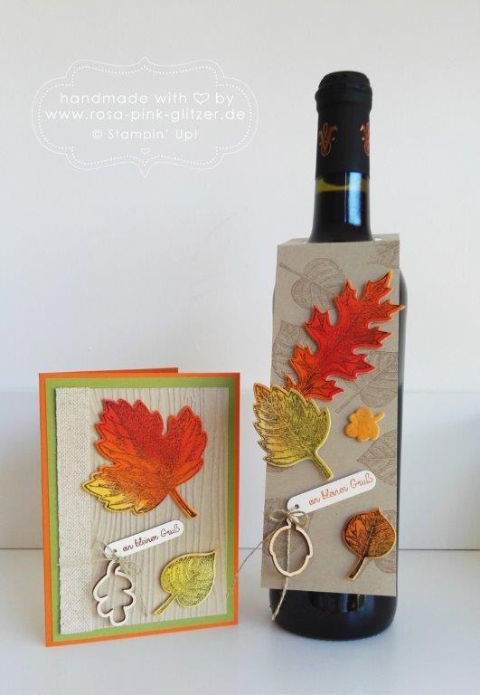 Stampin up Landshut - Vintage Leaves Herbst 1