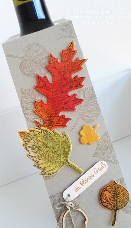 Stampin up Landshut - Vintage Leaves Herbst 2