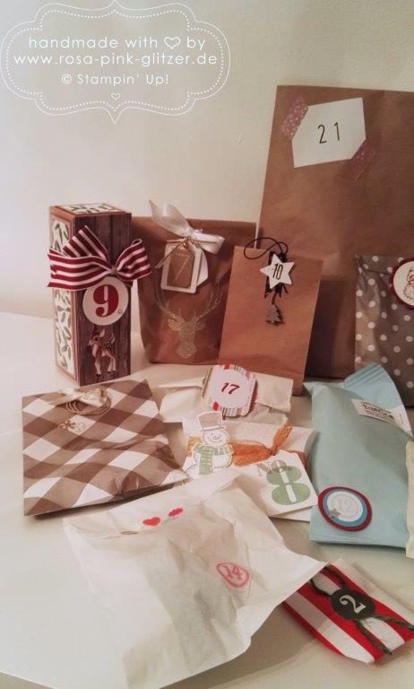 Stampin up Landshut - Adventskalender Swap 2015 3-1