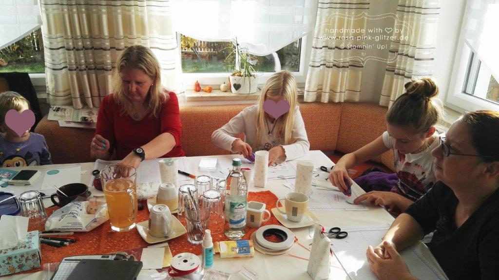 Stampin up Landshut - Workshop Weihnachten 2015 Au Hallertau 1