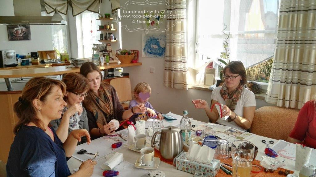 Stampin up Landshut - Workshop Weihnachten 2015 Au Hallertau 2