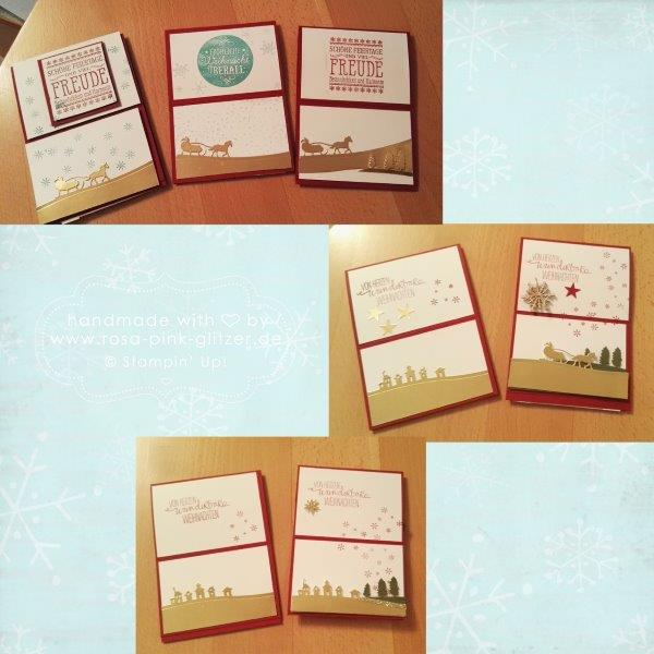 Stampin up Landshut - Workshop Weihnachten 2015 Au Hallertau 5