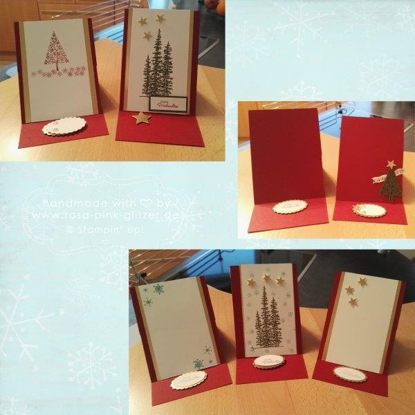 Stampin up Landshut - Workshop Weihnachten 2015 Au Hallertau 6