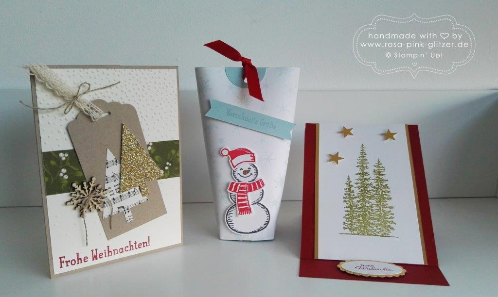 Stampin up Landshut - Workshop Weihnachten 2015 Au Hallertau 8
