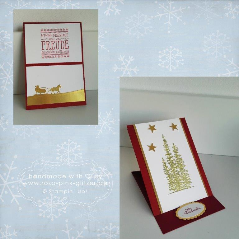 Stampin up Landshut - Workshop Weihnachten 2015 Au Hallertau 9
