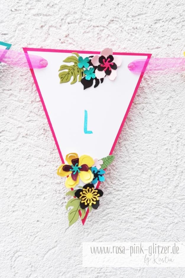 Stampin up Landshut - Hawaii Party Aloha Botanical Blooms 10