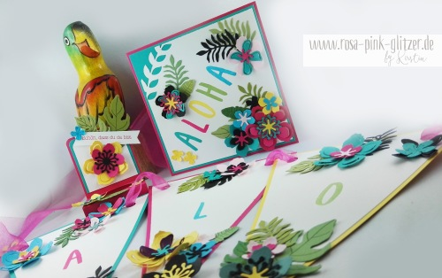 Stampin up Landshut - Hawaii Party Aloha Botanical Blooms 2