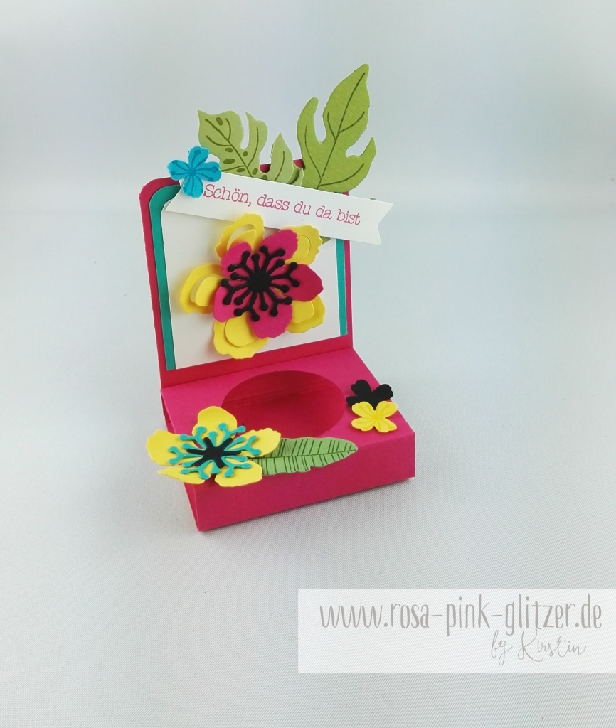 Stampin up Landshut - Hawaii Party Aloha Botanical Blooms 7