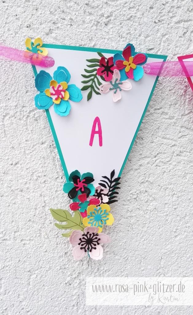 Stampin up Landshut - Hawaii Party Aloha Botanical Blooms 9