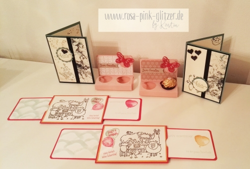 Stampin up Landshut - Workshop Stempelparty 7