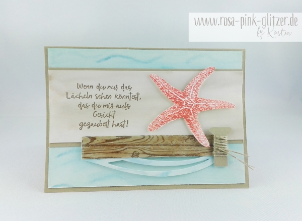 Stampin up Landshut - Picture Perfect Seestern 1
