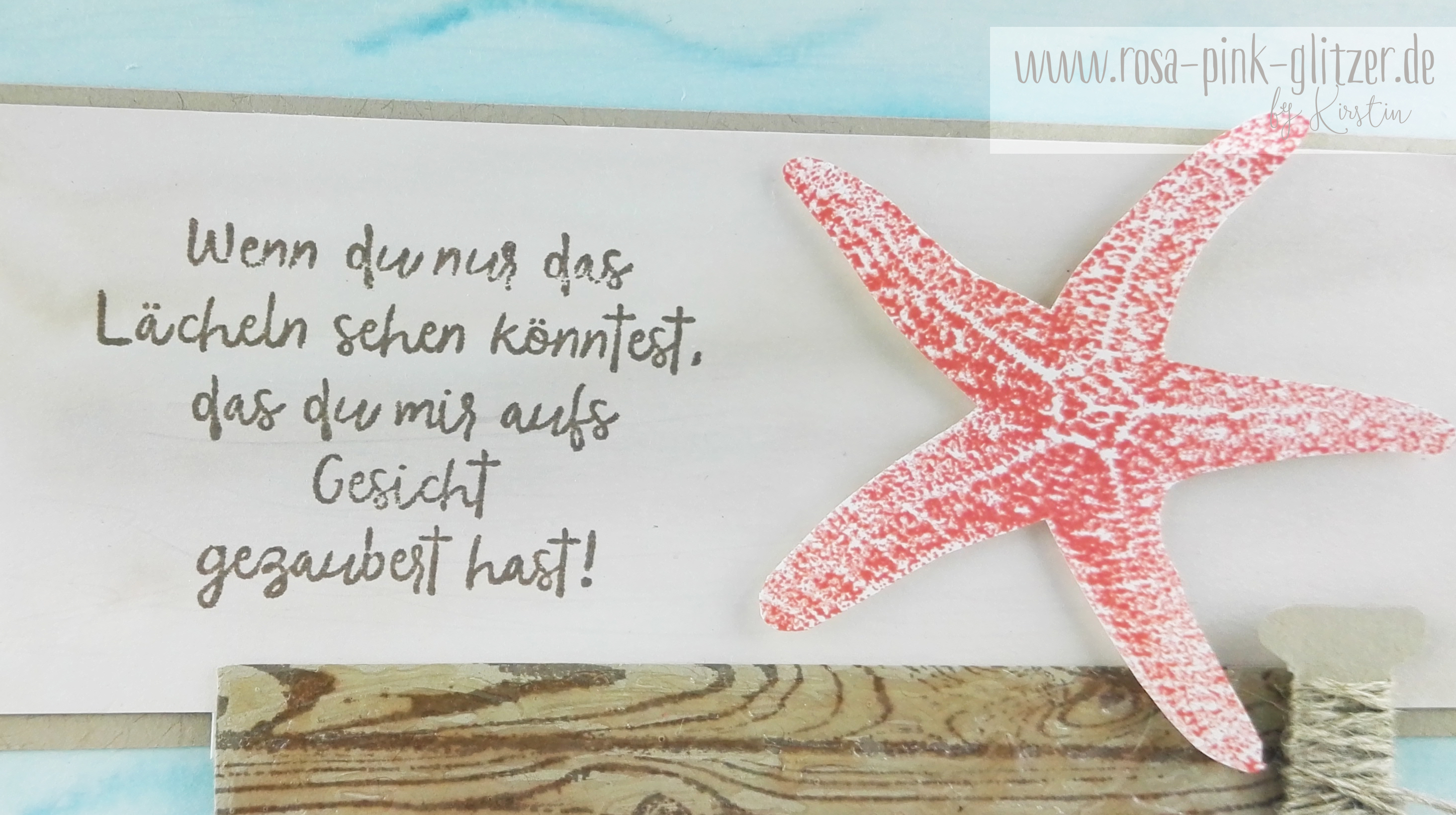 Stampin up Landshut - Picture Perfect Seestern 3