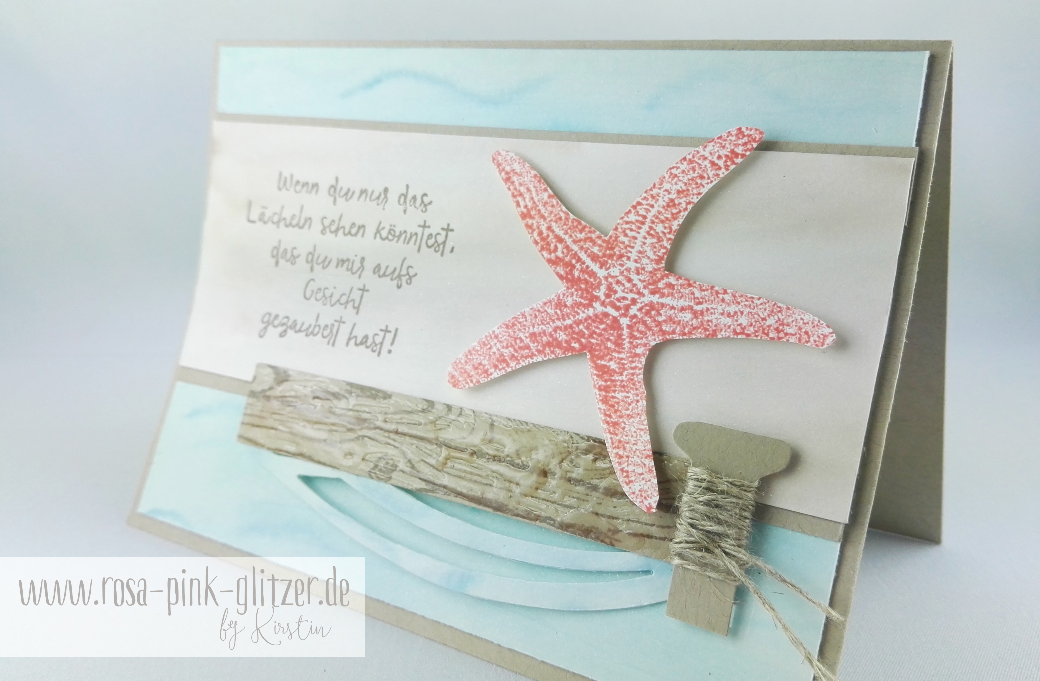 Stampin up Landshut - Picture Perfect Seestern 4