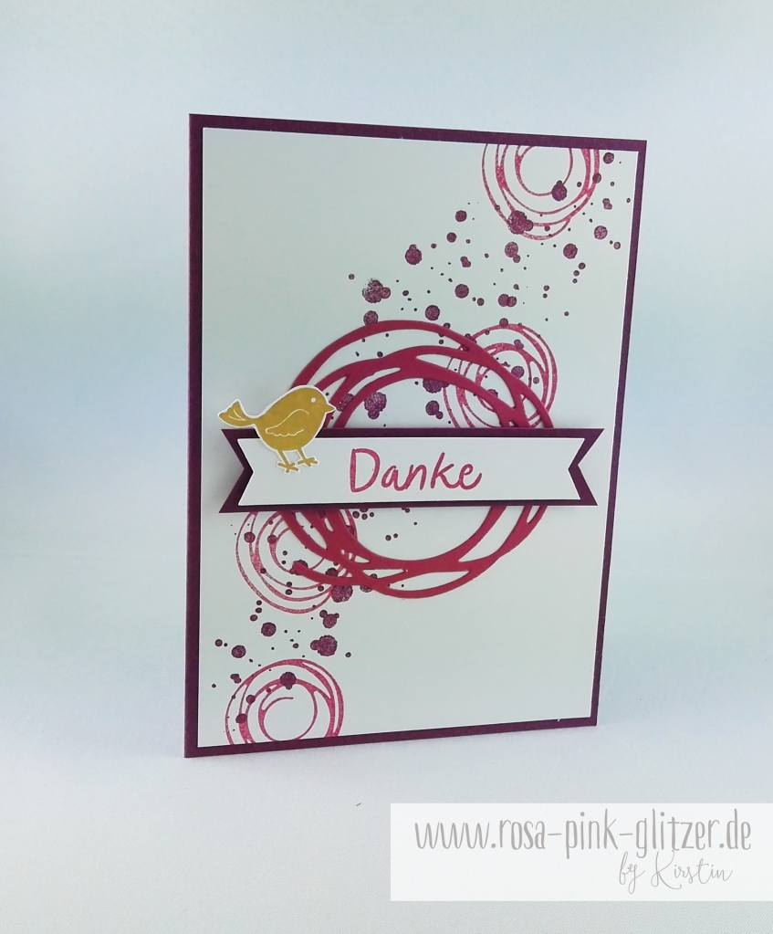 Stampin up Landshut - Swirly Bird 1