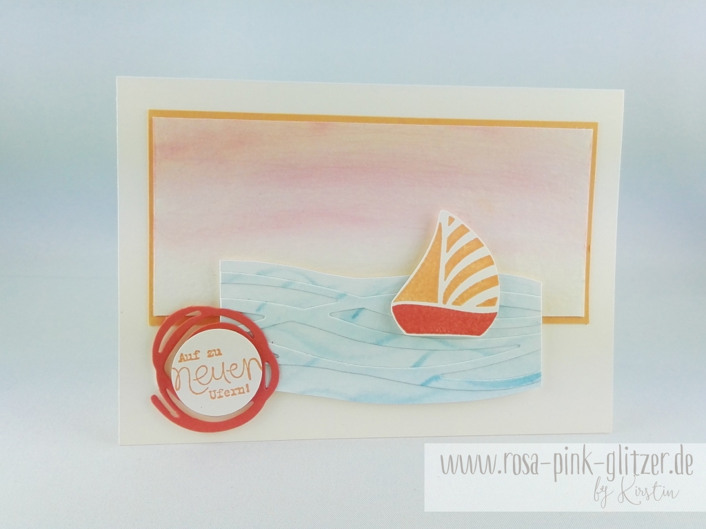 Stampin up Landshut - Swirly Bird Aquarell 1