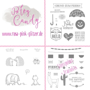 Blogcandy Stampin up Landshut 2016 Preise