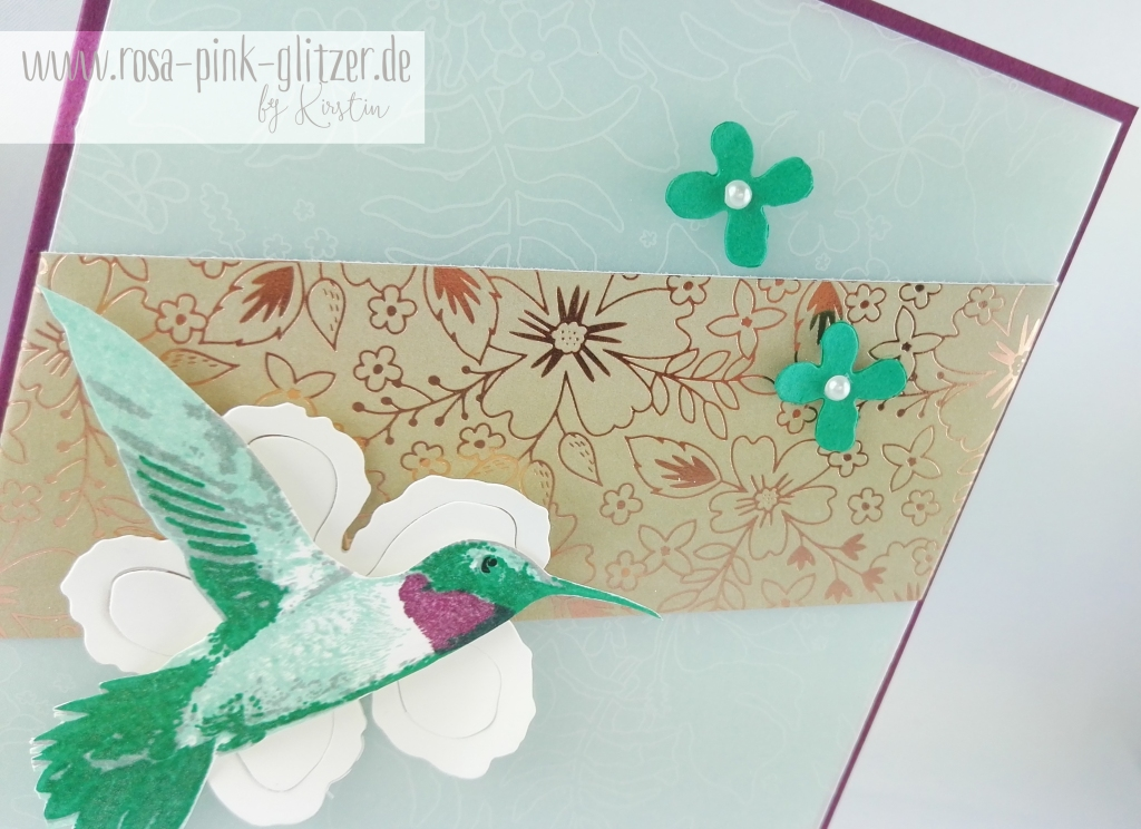 Stampin up Landshut - Picture Perfect Kolibri 2