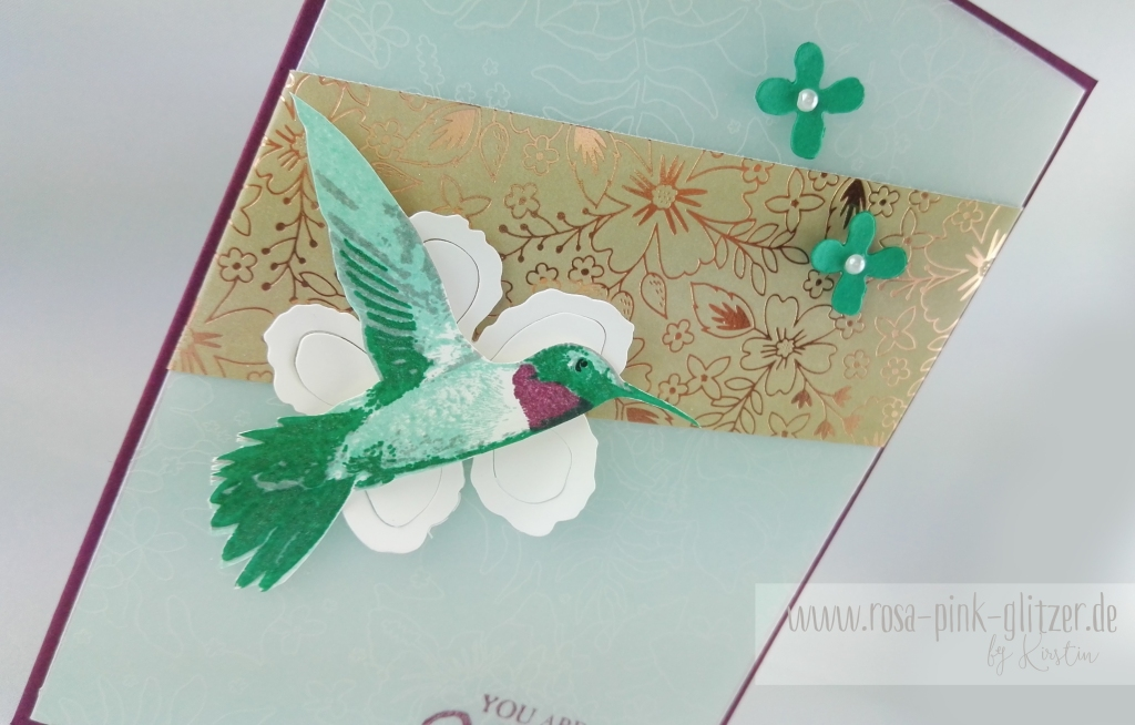 Stampin up Landshut - Picture Perfect Kolibri 3