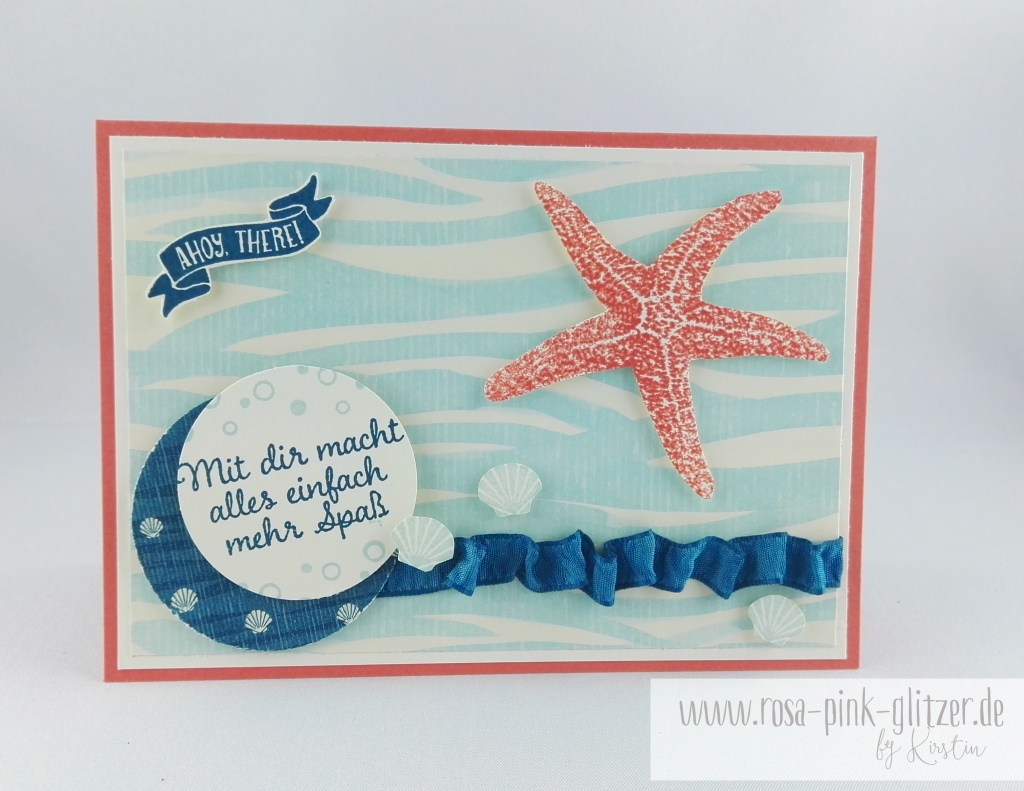 Stampin up Landshut - Picture Perfect under the sea 1