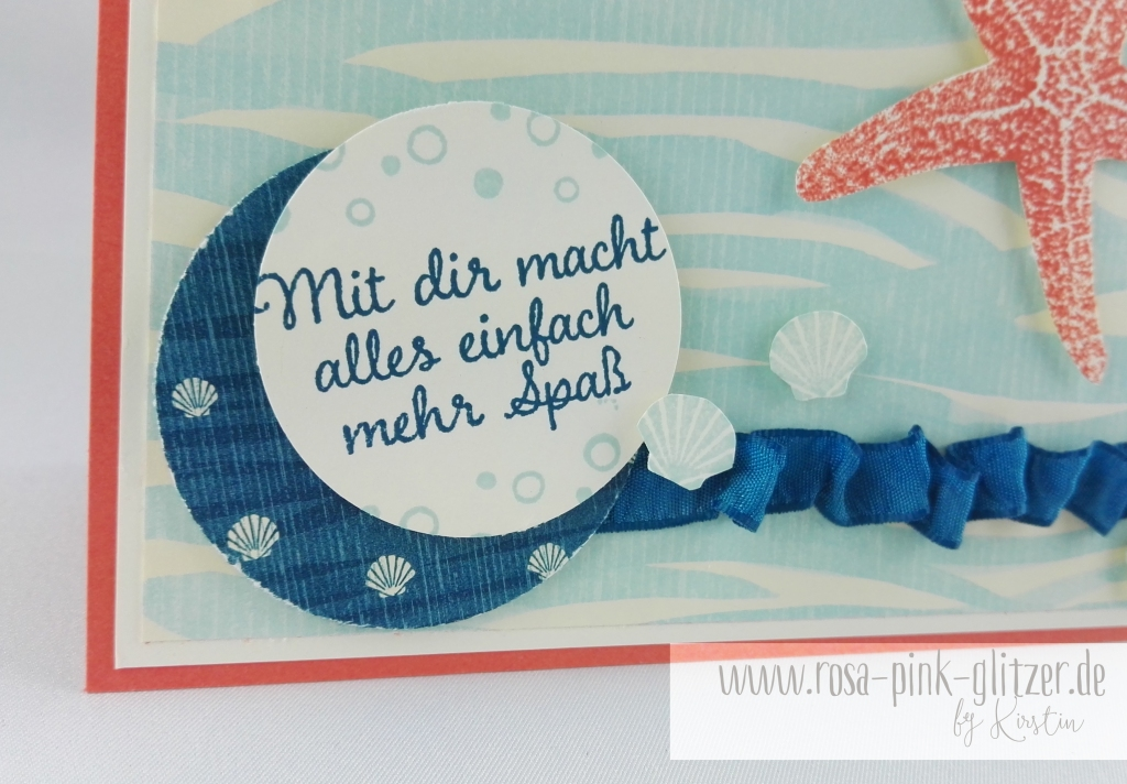 Stampin up Landshut - Picture Perfect under the sea 2