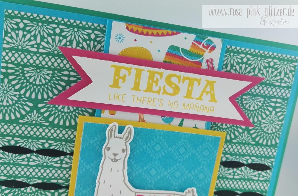 Stampin up Landsut - Fiesta Lama 2