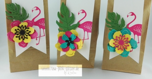 Stampin up Landshut - Pop of Paradise Teamschenklis Swaps 3