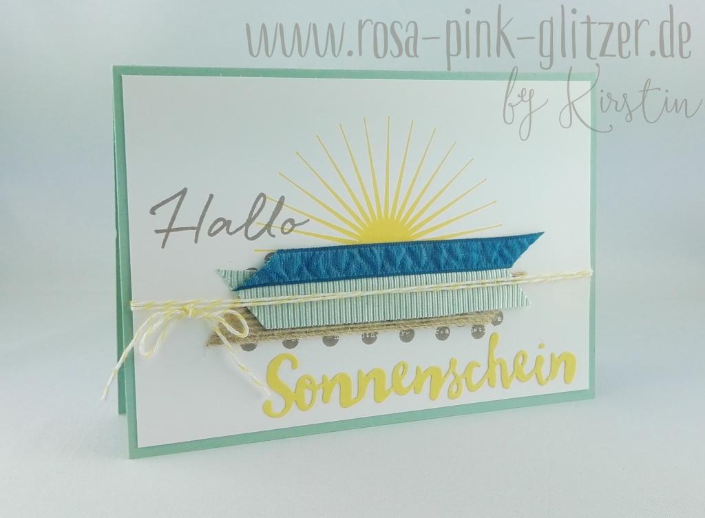 Stampin up Landshut - Hallo Sonnenschein 1