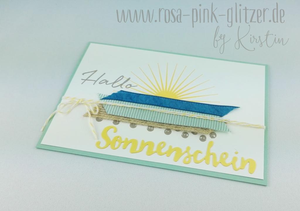 Stampin up Landshut - Hallo Sonnenschein 2