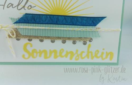 Stampin up Landshut - Hallo Sonnenschein 4