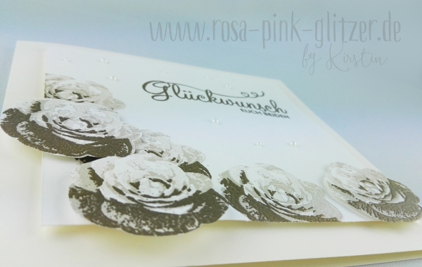 Stampin up Landshut - Hochzeitskarte Rosen Picture Perfect 2