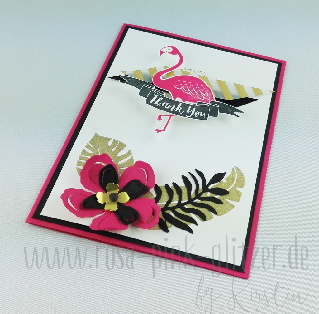 Stampin up Landshut - Pop of Paradise 4