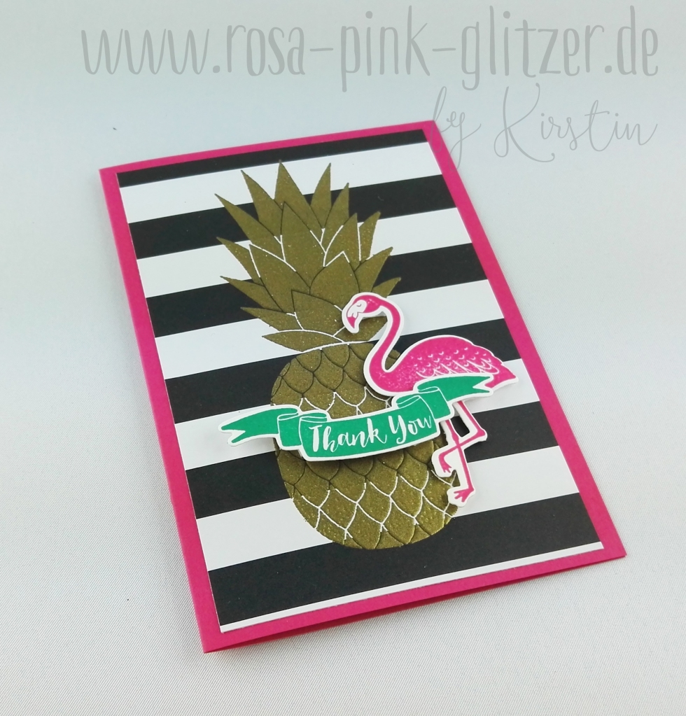 Stampin up Landshut - Pop of Paradise Pineapple (1)
