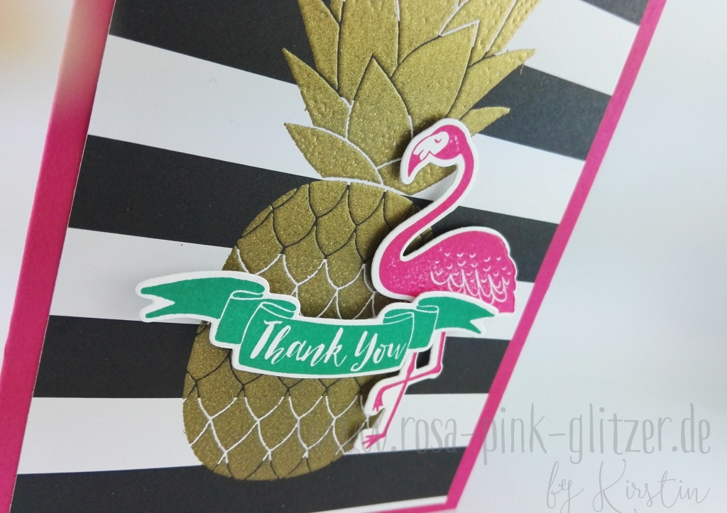 Stampin up Landshut - Pop of Paradise Pineapple (3)