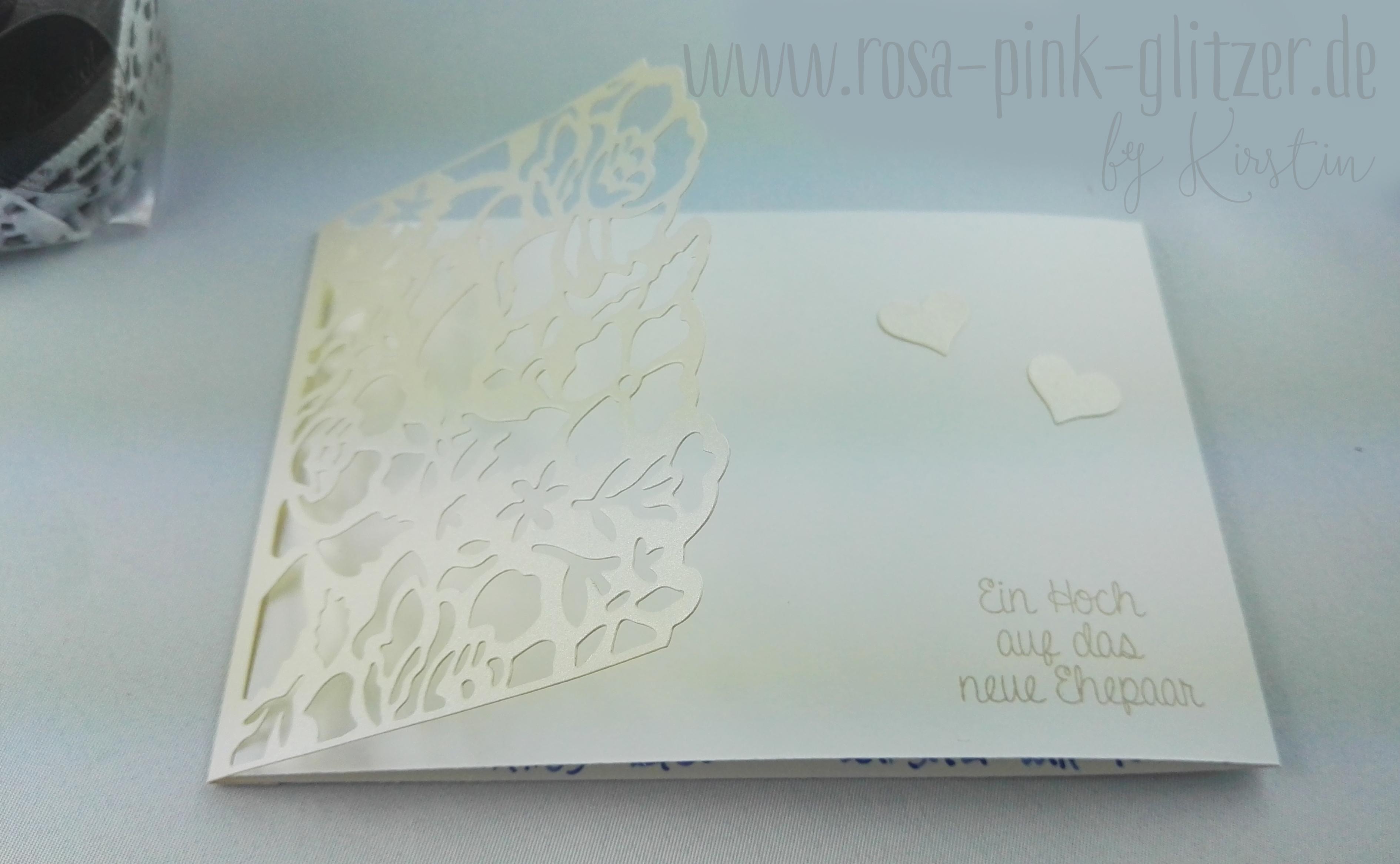 Hochzeitskarte Mit Den Thinlits Florale Fantasie Fur Thomas Und