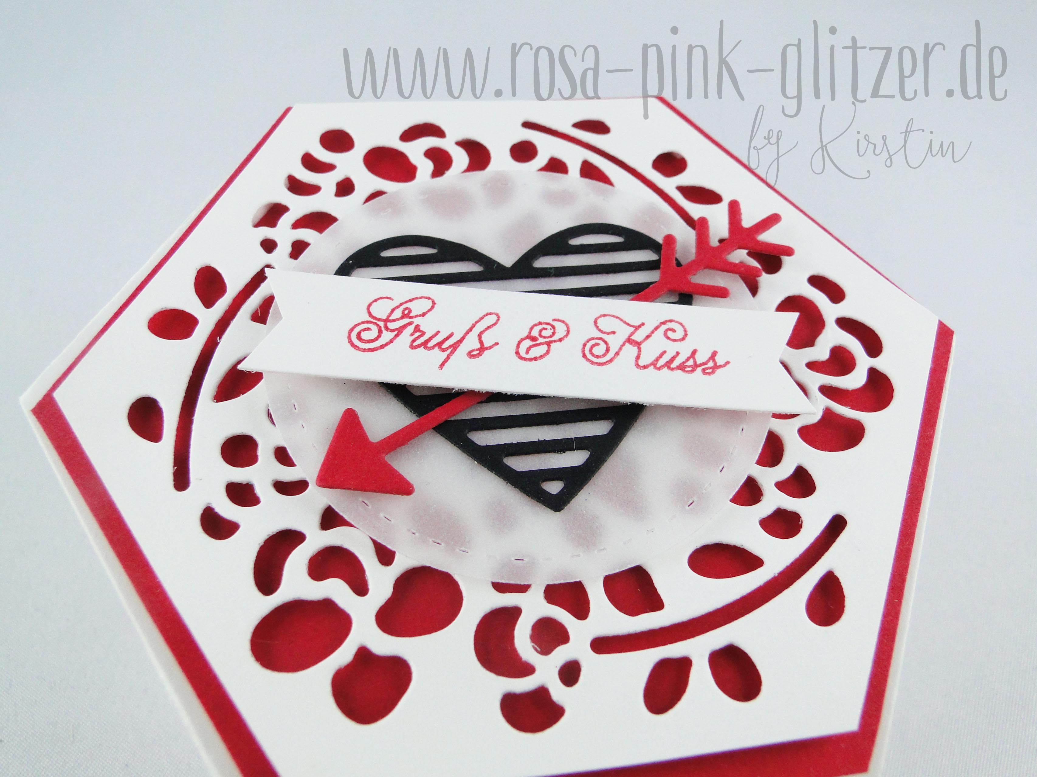 Stampin Up Landshut Fensterbox Valentinstag Gruss Und Kuss
