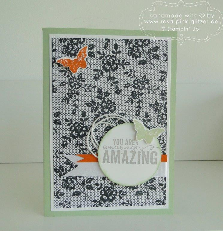Stampin up Landshut - i love lace kinda eclectic 1
