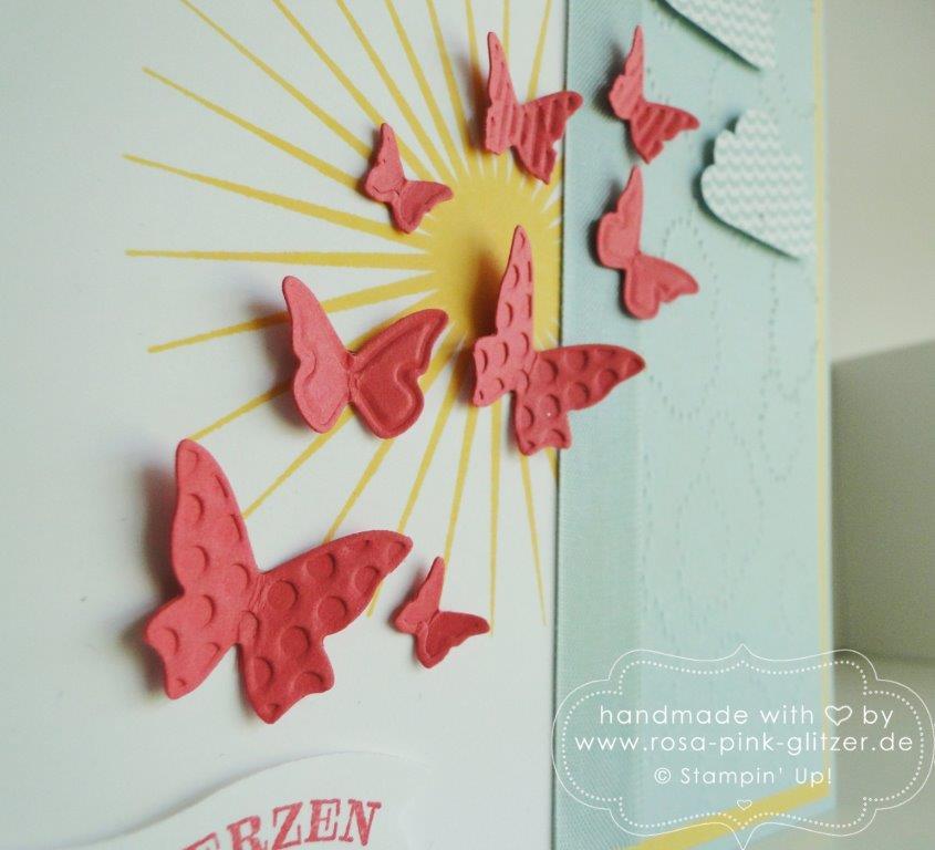 Stampin up Landshut - Kinda Eclectic Schmetterlinge 2