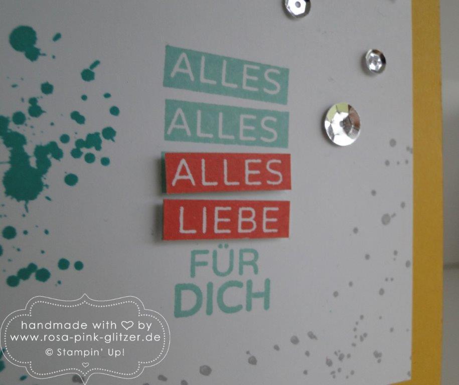 Stampin up Landshut - Pop up Karte Gorgeous Grunge 4